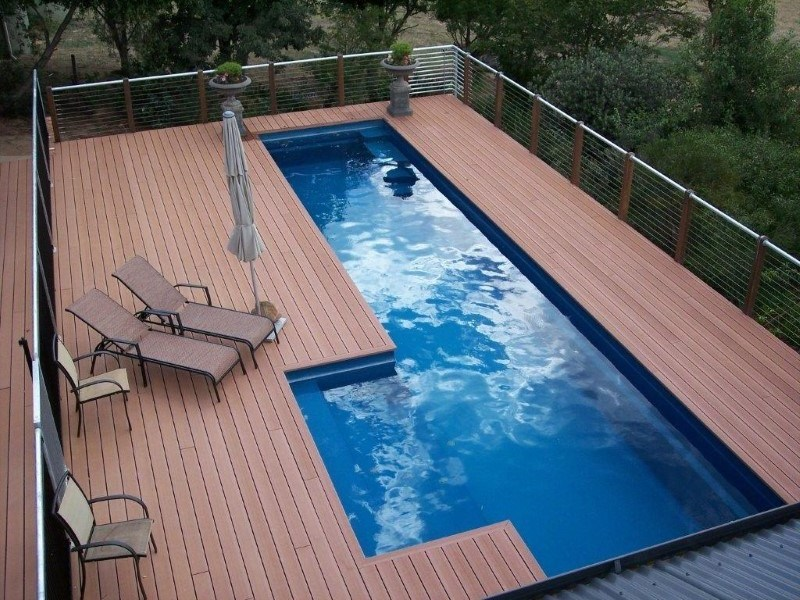 Above Ground Fibreglass Pools | Composite Pool Solutions