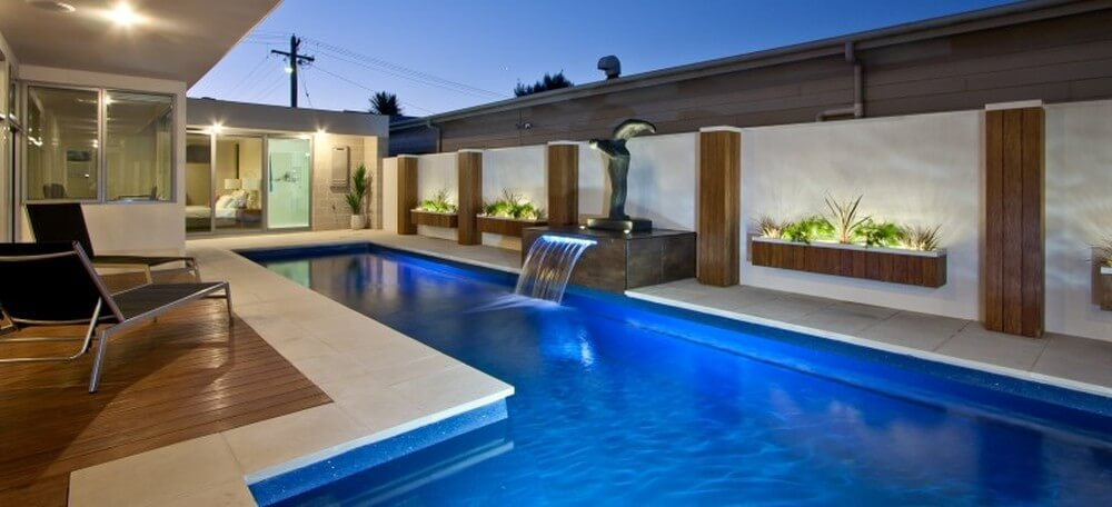 Composite Pool Solutions Enjoy the lap pool swim in hot days