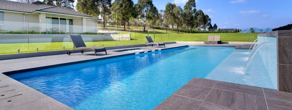 Composite Pool Solutions Large X Trainer as the perfect inground lap pool