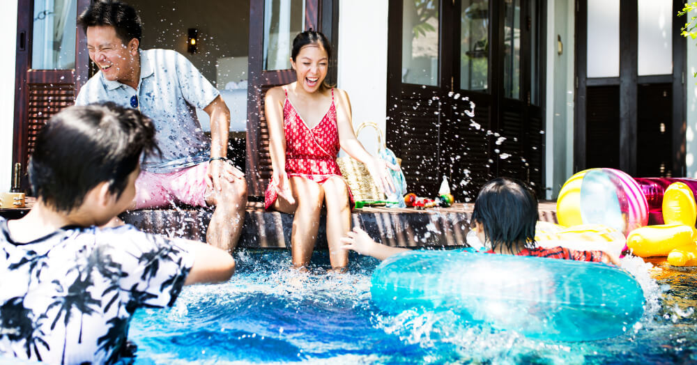 Composite Pool Solutions Plunge pools are popular choices for families
