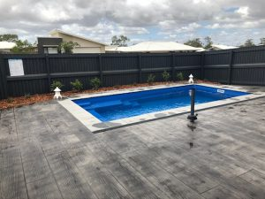 Composite Pool Solutions X Trainer 5 8 Royal Blue fibreglass pool Gracemere QLD 3